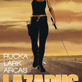 Lazarus #2 Sells Out Of 35000 Print Run