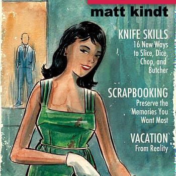 Seven Comics Solicited From Matt Kindt In October&#8230 So Far