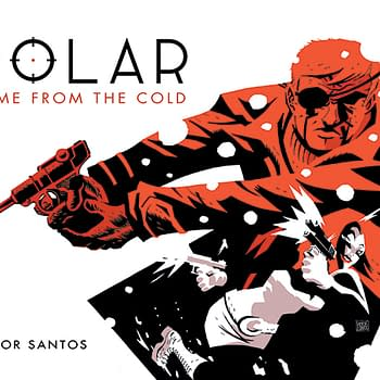 Dark Horse Puts Words To Victor Salas Polar