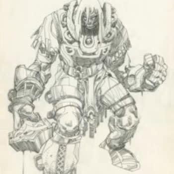 More On Walt Simonson's New Epic Series From IDW, Ragnarok