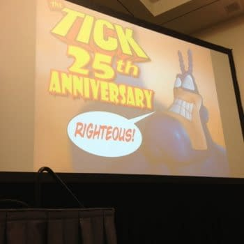 The Tick's 25th Anniversary Panel At SDCC, Surprise Guests and More