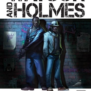 Watson And Holmes Sells Out Of 3888 Print Run Of Issue 1 Ahead Of San Diego Comic Con