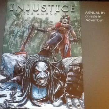Harley Quinn Beats Up Lobo In Injustice Gods Among Us Annual In November
