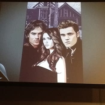 Vampire Diaries A New Weekly Digital Comic From DC Comics