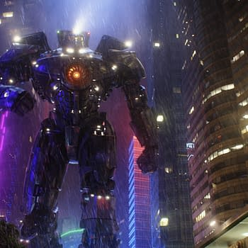 Watch Guillermo Del Toro Come Face To Face With A Giant Gundam