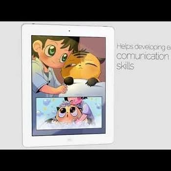 Digital Comics Without Words To Teach Communication Skills