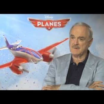 When Bleeding Cool Met John Cleese – Disney's Planes Vs. Men In Black Clothes Doing Terrible Things To Each Other