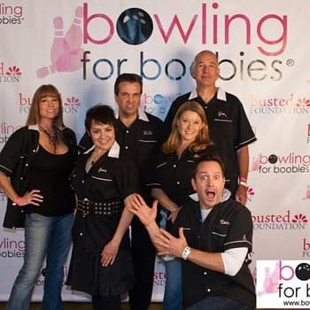 Bowling Against Breast Cancer With Jane Wiedlin And Thomas Lennon