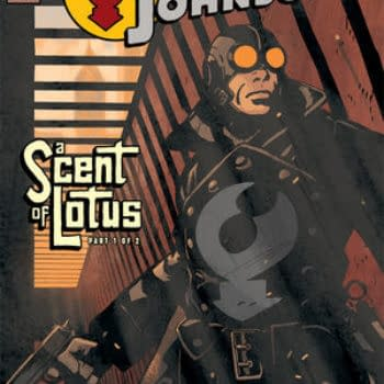 The Gadget-Hero Strikes Again In Lobster Johnson: A Scent Of Lotus