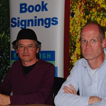 Chris Ware And Joe Sacco Stripped In Edinburgh