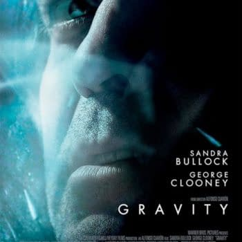 New Posters For Gravity And All Is Lost Tell You 'Don't Let Go' And 'Never Give Up'