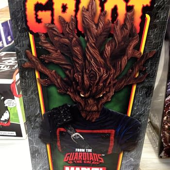 Live From The Comic Shop – Groot, Venom, Zombie Bart, Arkham, Hellboy Collectibles