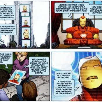 Avengers AI And V For Vendetta? Separated At Birth? (Spoilers)