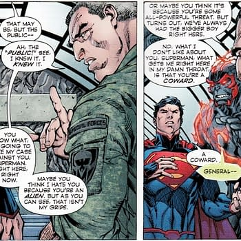 When A US General Called Superman A Coward And A Mass Murderer To His Face