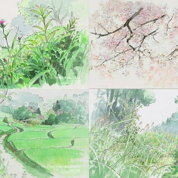 New Images From Studio Ghiblis Kaguya-hime No Monogatari