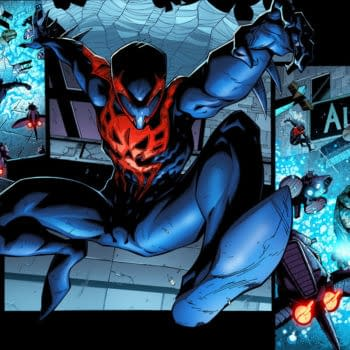 Your First Look At Spider-Man 2099 In Superior Spider-Man #17