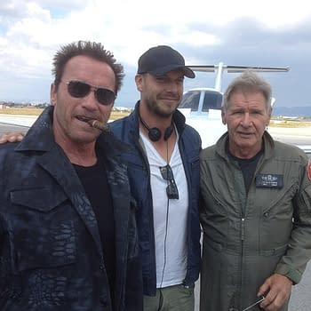 Expendables 3 Set Photo Features Patrick Hughes And Some Other Guys