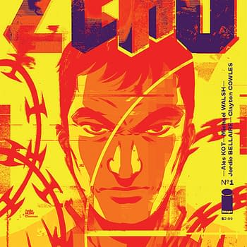 Becky Cloonans Cover For Ales Kots Zero (UPDATE: Now With Added Paul Pope)