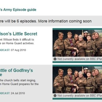 Dad's Army – The Smoking Gun For Doctor Who Missing Episodes?