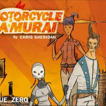 ComiXology All Over The World – With Motorcycle Samurai