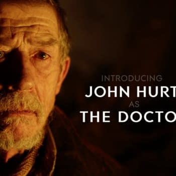 John Hurt Gets A Reference In New Doctor Who Comic&#8230