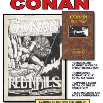 """Conan: Red Nails – The Great """"Matte Or Gloss"""" Debate Of 2013"""