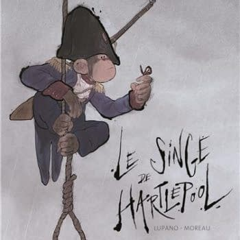 The Hartlepool Monkey Scores Big In France
