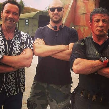 Another New Expendables 3 Set Image Featuring Patrick Hughes And Some Other Guys