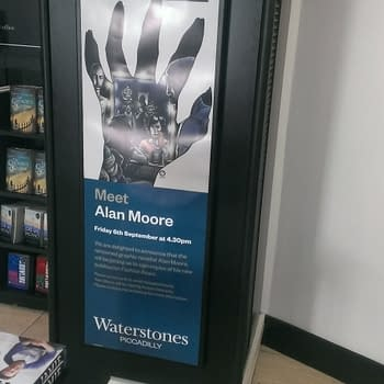 Waterstones Gets Ready For Alan Moore On Friday