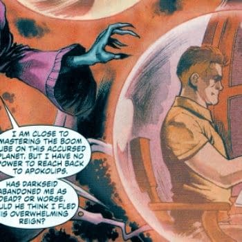 Jack Kirby's First Appearance In The New 52 (Desaad SPOILERS)