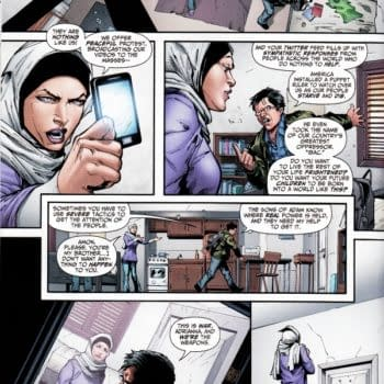 From Pacifist To Insurgent – The Grooming Of Terror In Black Adam #1