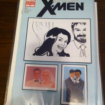 Create Your Own X-Wedding With George Perez, Ming Doyle, Tim Seeley, Nick Bradshaw,  Danica Brine, Paul Ryan, Bill Wilingham and Jack Purcell