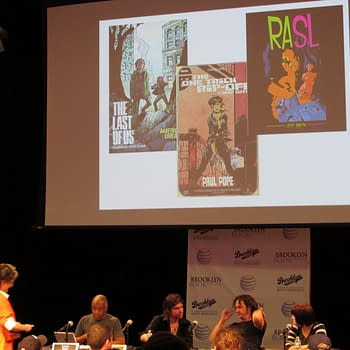 The World We Live In Now In Comics Is The World We Were Hoping For &#8211 Jeff Smith Paul Pope Faith Erin Hicks on Sci-Fi at The Brooklyn Book Festival