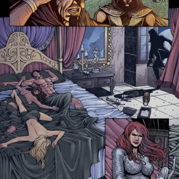 A Look At Carla Speed McNeil's Red Sonja… Including Tentacles