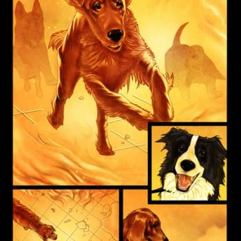 Garth Ennis Writes A Comic About Three Dogs At The End Of The World – Preview