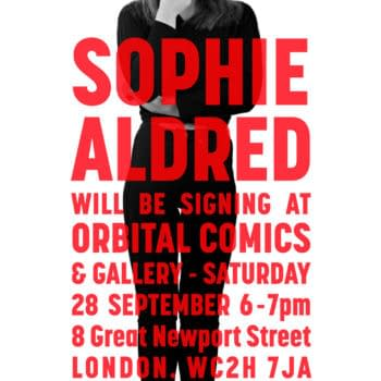 Sophie Aldred Signs At Orbital Comics Tonight To Close Her Exhibition