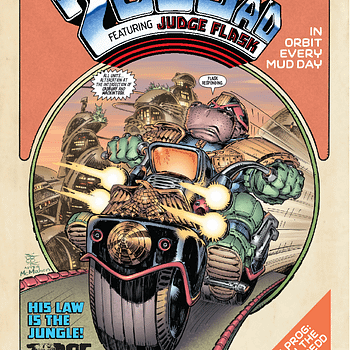 What Do You Get When You Cross Elephantmen With Judge Dredd