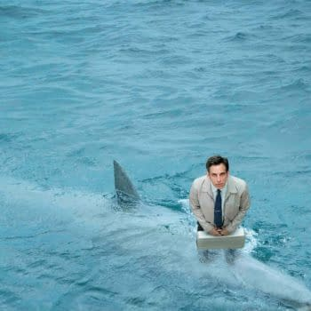 Posters For The Secret Life Of Walter Mitty Feature A City, A Mountain, The Moon And A Shark