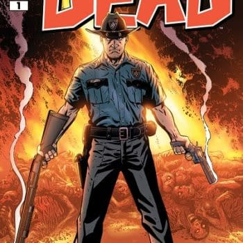 Mike Zeck's Cover For The Walking Dead #1 For Wizard World Ohio