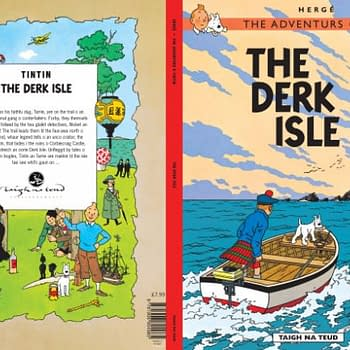 Tintin Translated Into A New Language. Broad Scots.