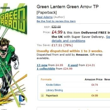 Glitchwatch: Neal Adams And Dennis O'Neil's Green Arrow/Green Lantern For 80% Off On Amazon.co.uk