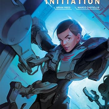 Pencils To Inks To Colors The Process Of Making Halo: Initiation #2