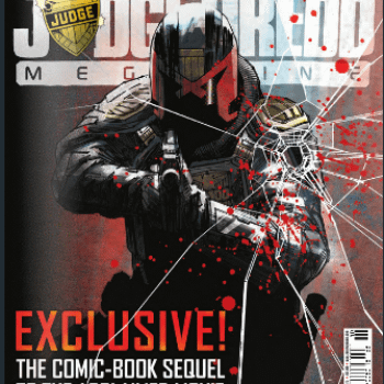A New Creator Owned Comic By D'Israeli And Rob Williams From Judge Dredd Megazine Next Week