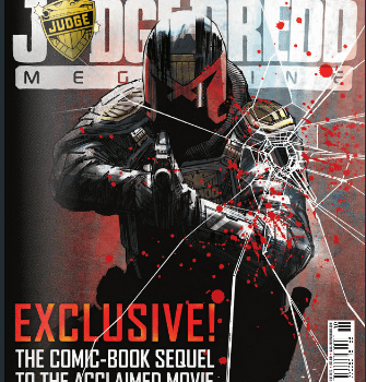 A New Creator Owned Comic By DIsraeli And Rob Williams From Judge Dredd Megazine Next Week