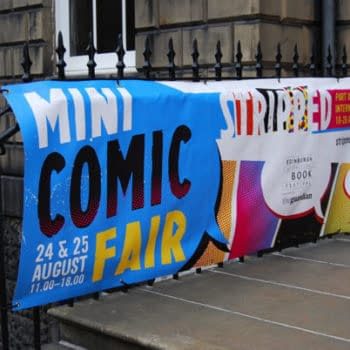 Nineteen Tables At Edinburgh's Mini Comics Fair, Stripped In Pictures