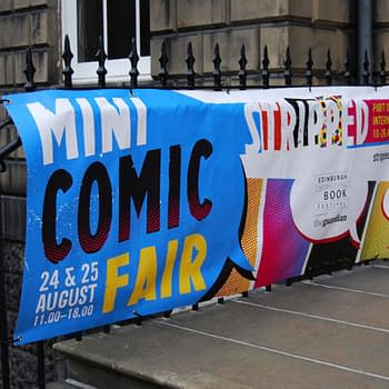 Nineteen Tables At Edinburghs Mini Comics Fair Stripped In Pictures