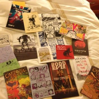 Glorious SPX Swag – Day 1 Comics Avalanche