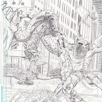Pencils To Inks To Colors With Cyrptozoic Man #1