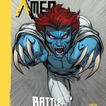 Here Comes Blue Wolverine Jr In Battle Of The Atom (MINI SPOILERS)