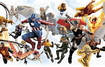 Chopping Up The Six Foot Avengers Poster With Avengers #24.NOW Into More Manageable Six Inch Bits (UPDATE)